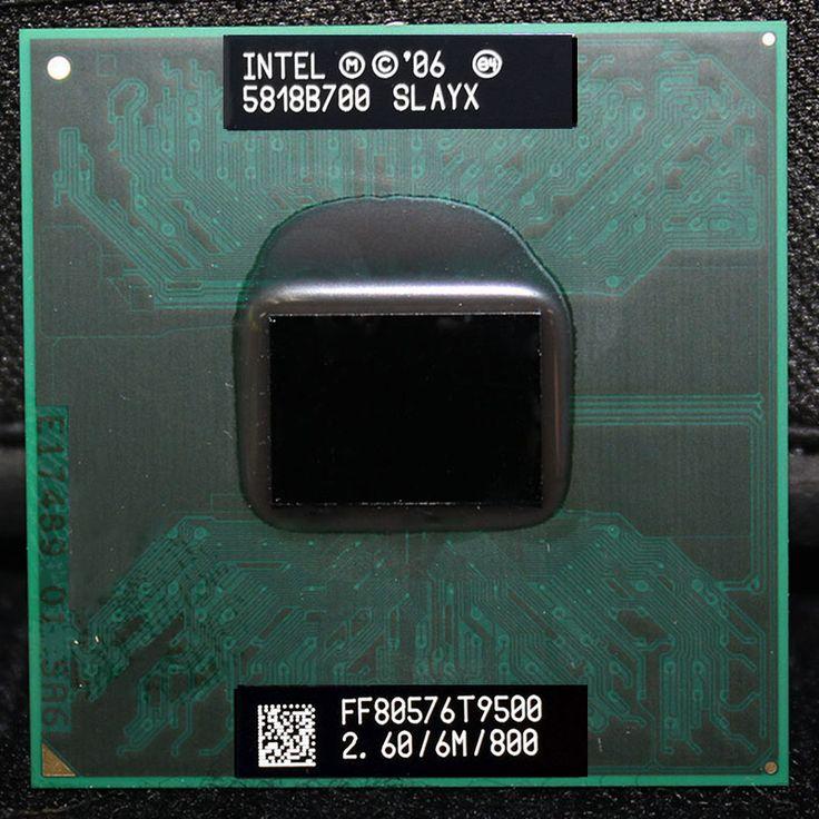 CPU laptop Core 2 Duo T9500 CPU 6M Cache/2.6GHz/800/Dual-Core Socket 478 PGA Laptop processor forGM45 PM45