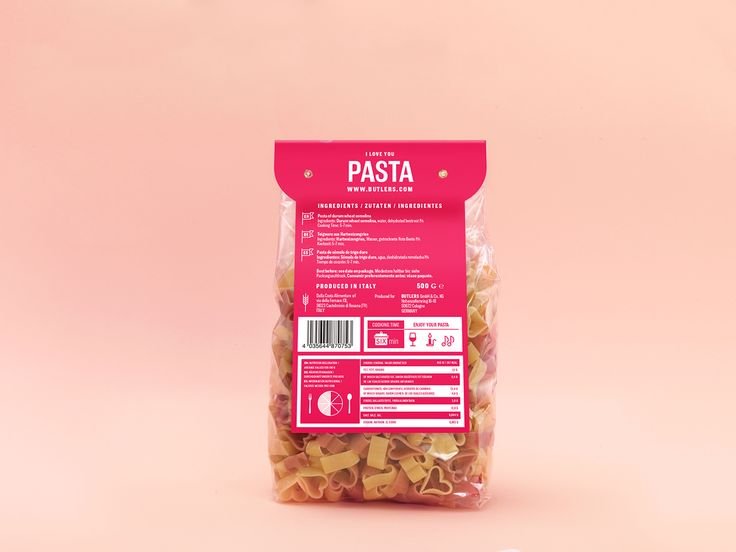 BUTLERS Pasta on Behance