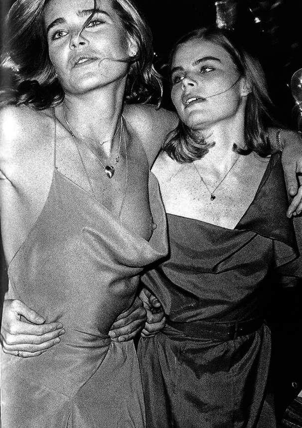 Margaux & Mariel Hemingway - 1970s