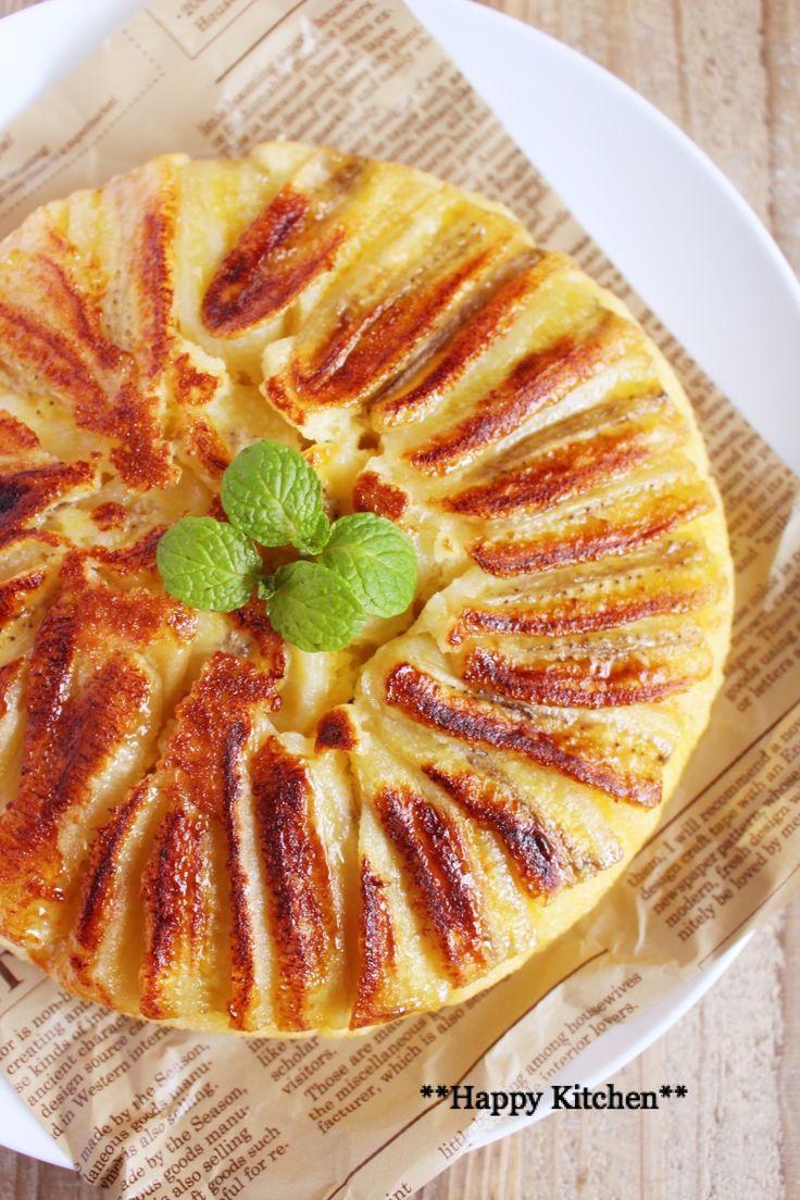 フライパンで*カラメルバナナケーキ*場違い過ぎて泣きそうになった日 |たっきーママ オフィシャルブログ「たっきーママ@happy kitchen」Powered by Ameba