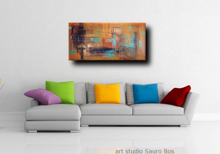 71 best quadri astratti sauro bos images on Pinterest | Tela