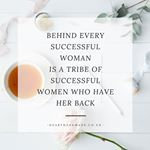 'Behind every successful woman....' Quote Seen in the #creativesuperheroes Fb group yesterday. Stock by @whitehartdesignco & Fb group @wonderlass