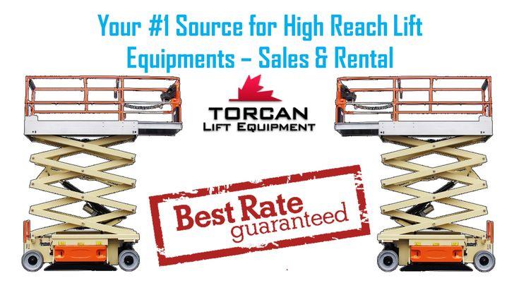 Torcan Lift Equipment |   Scissor Lift for Sales or Rental in Toronto