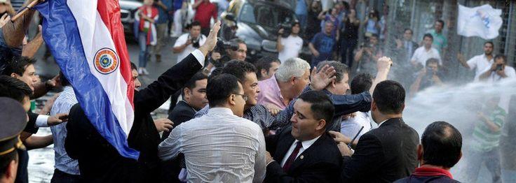 Fonte: Revolução no Paraguai: povo invade e incendeia o Congresso | Brasil 24/7
