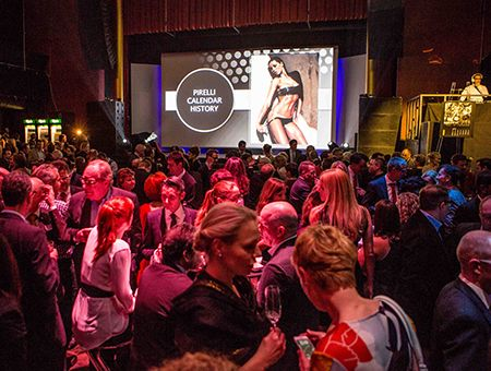 Die Pirelli Night 2014 – Die Grosse Pirelli Kalender Jubiläumsfeier
