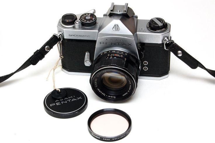 Pentax Spotmatic SP med Super-Takumar 55mm f/1.8