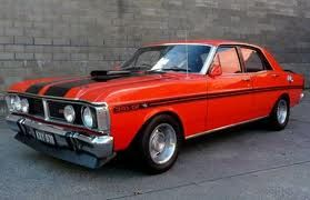 1971 Ford XY GTHO Phase III - Courtesy of http://carworldnetwork.com/
