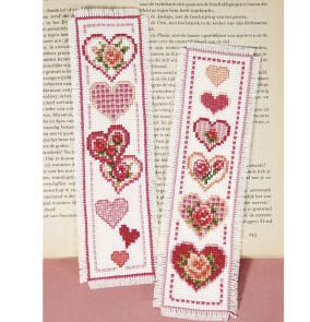 It is a photo of Dynamic Free Printable Counted Cross Stitch Bookmark Patterns