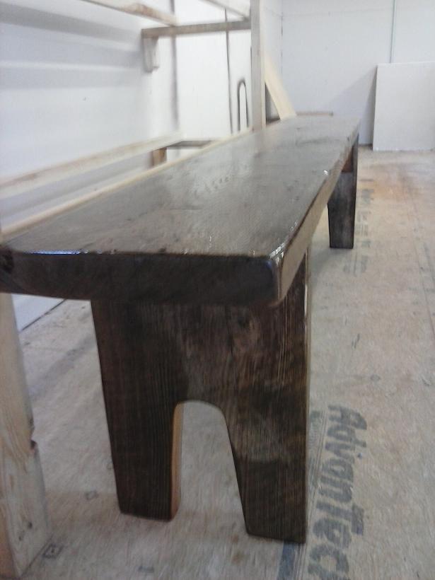 Walnut Threshing Farm Table Top Barnwood Bricks 174 Custom