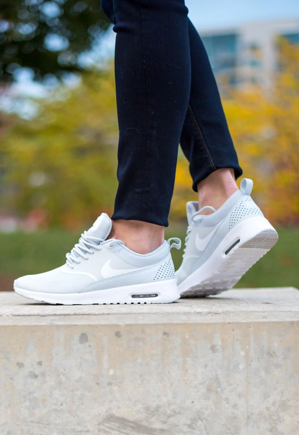 Nike Air Max Thea Women's Running Shoes White/White/Blue Tint