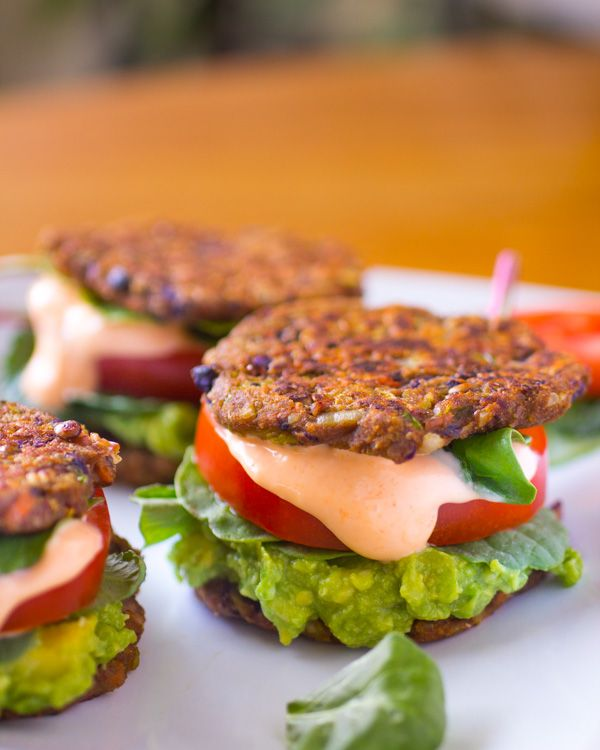 Best Veggie Burger Recipe in the World #glutenfree #vegan #nutritarian Super adaptable! http://www.thewateringmouth.com/113