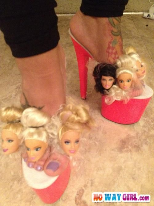 Most Ghetto Shoes Ever - NoWayGirl...sad part id wear them lol