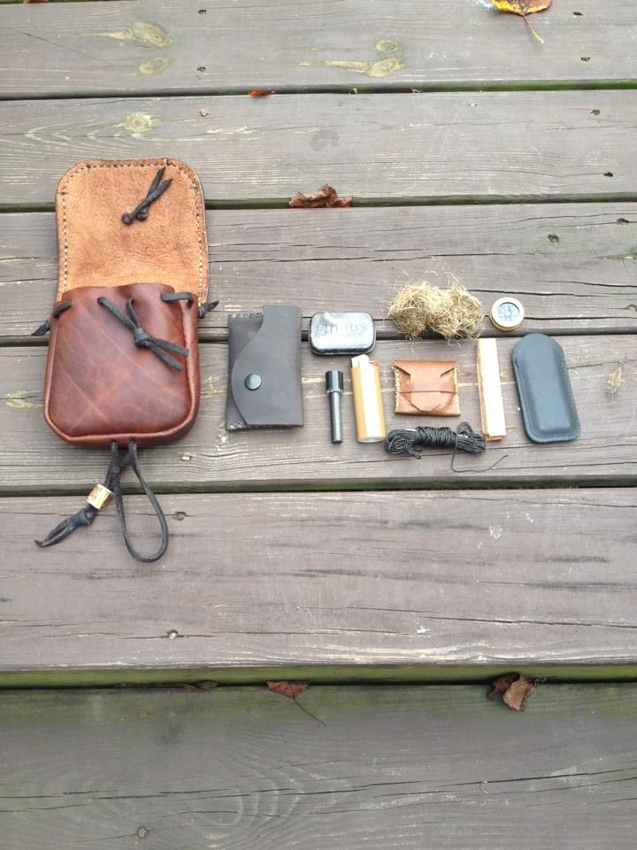Belt Pouch Fire Kit Bushcraft Gear Pinterest Belt
