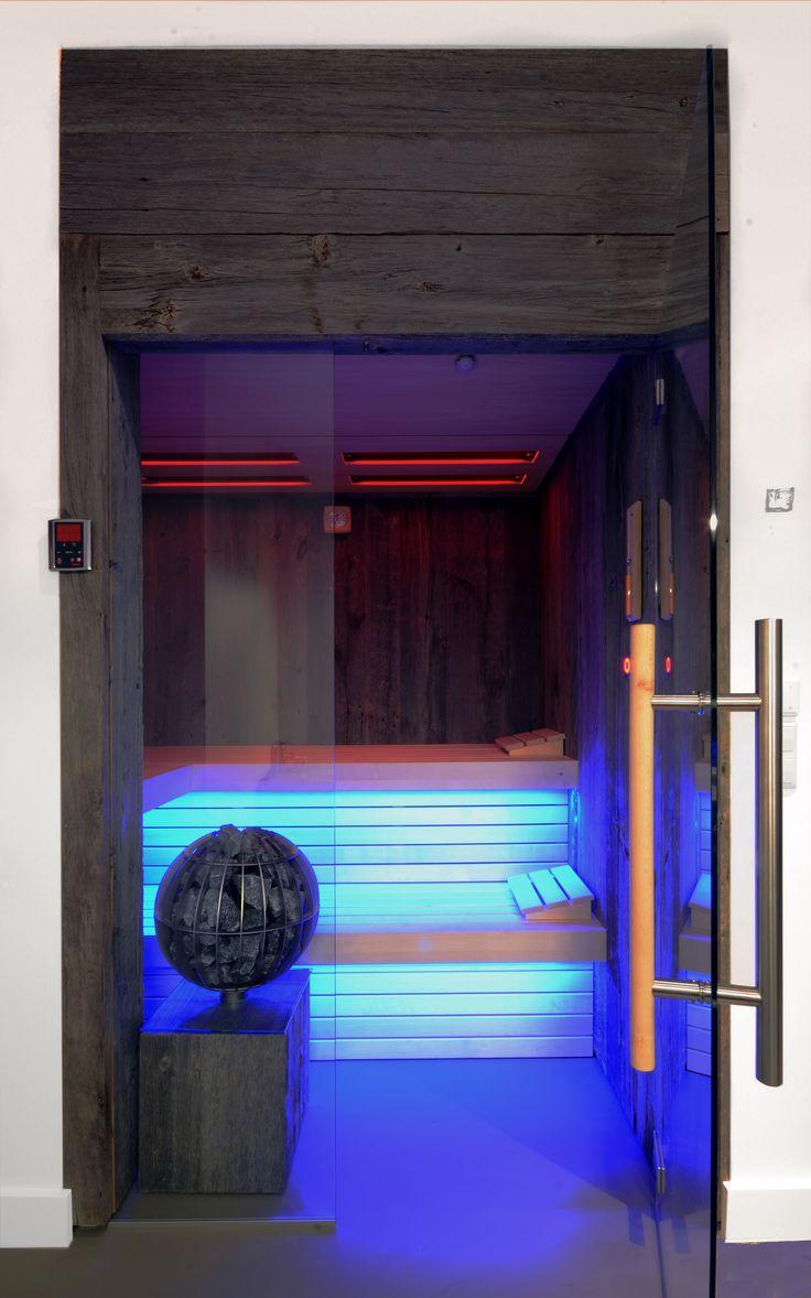 Infrared sauna by VSB Wellness - Infrarood sauna gemaakt door VSB Wellness