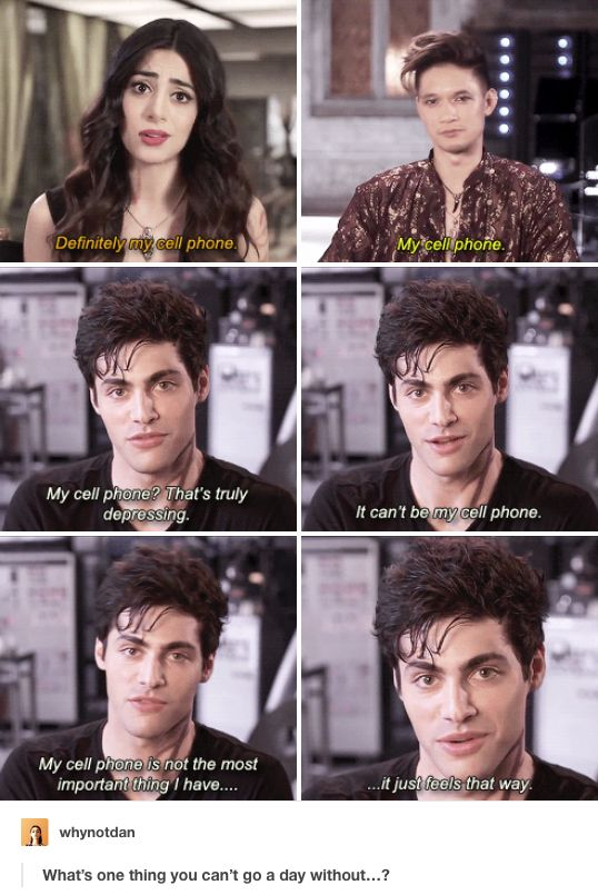 Emeraude Toubia, Harry Shum Jr., Matthew DaDdario