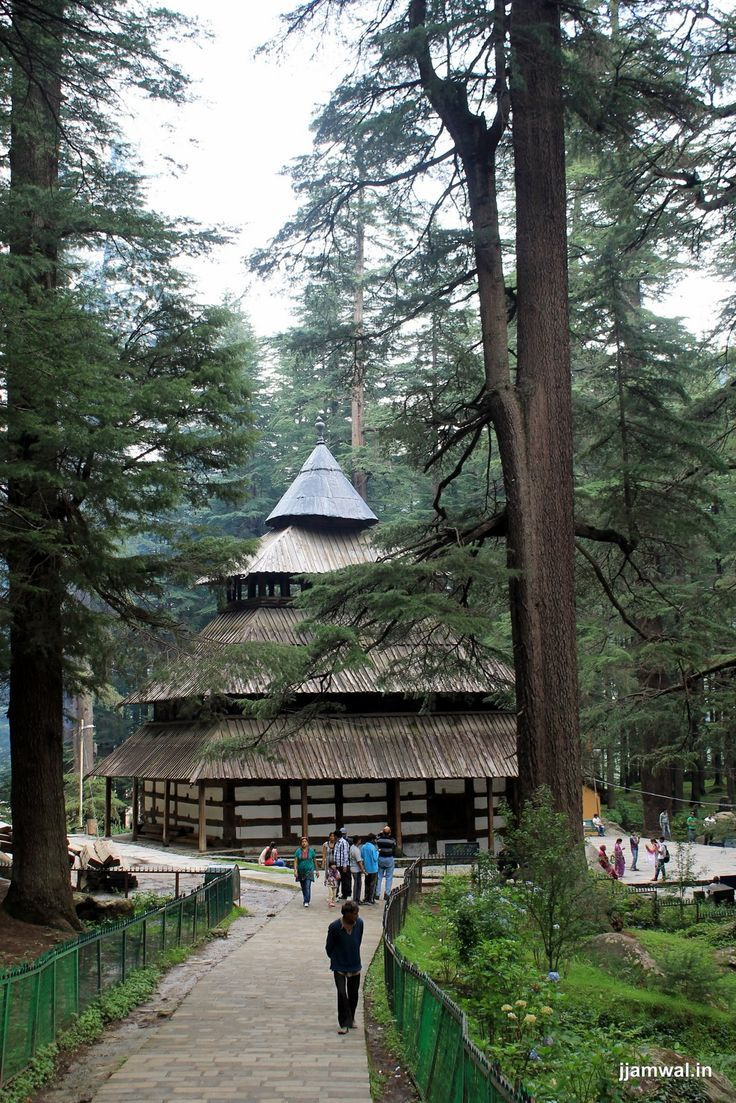 Ancient Hidimba Temple in Manali, Himachal Pradesh, #India
