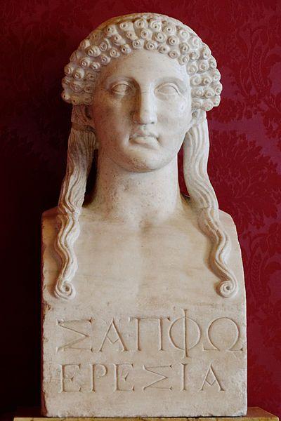 Bust Sappho Musei Capitolini: 5Th Century, Ancient Greek, Capitoline Museums, Romans Copy, Lyrics Poets, Poetry Center, Islands, Births, Greek Art