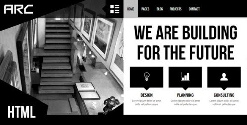 Themeforest - Arc - Responsive Architect Business Template