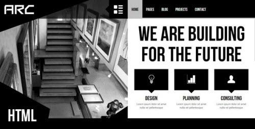 Themeforest - Arc - Responsive Architect Business Template