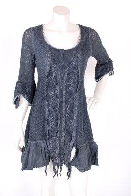 Favorit i repris . Soomar Lace Love Dress i chalk och mörkblått