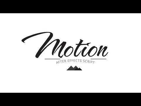 Motion - Animation Will Never Be the Same - YouTube