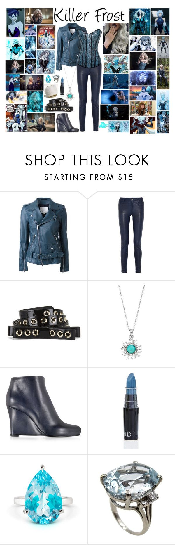 """""""Killer Frost"""" by pie-epic ❤ liked on Polyvore featuring Rogues Gallery, 3.1 Phillip Lim, Alice + Olivia, RED Valentino and Jil Sander"""