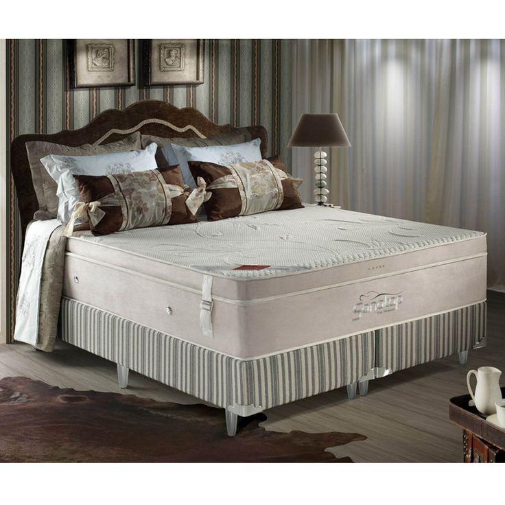 Gostou desta Conjunto Cama Box King Top Majestic 193 x 203 Branco/Bege - Sonotop, confira em: https://www.panoramamoveis.com.br/conjunto-cama-box-king-top-majestic-193-x-203-branco-bege-sonotop-10149.html