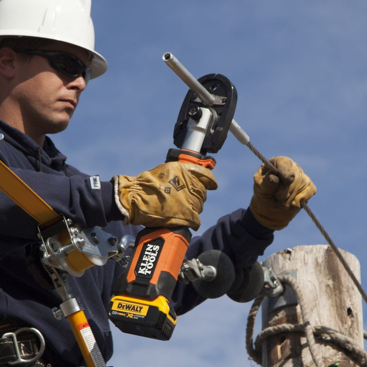 Klein has teamed up with DeWalt to bring you a new line of cordless electrician and linesmen tools. The Klein 20V Max lineup runs on DeWalt's battery platform, and it includes crimpers and cutters, as well as an impact wrench.   https://www.protoolreviews.com/tools/power/cordless/klein-20v-max-tools-electricians/36036/  #KleinTool #NewKleins #DeWalt #20VMax