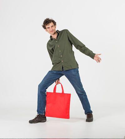 Bolsas de colores con asa corta #tst #tejidosintejer #bolsastela #tnt