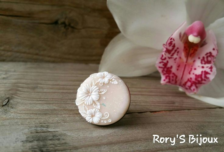 #Floral #Ring #PolymerClay #Handmade