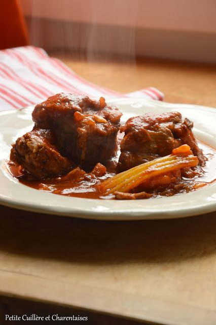 Queue de boeuf comme à Rome // #cuisineitalienne #rome #recette
