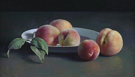 Henk helmantel.nl (Still life with peaches)....Henk Helmantel.