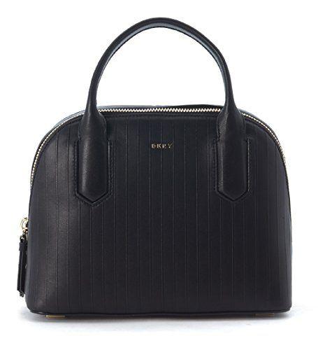 DKNY-Handtasche-Small-Leder-Schwarz