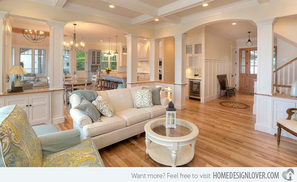 15 Close to Perfect Traditional Open Living Room Ideas ...