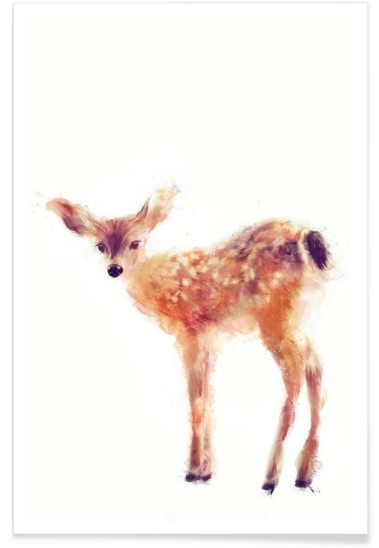 """Fawn"" by Amy Hamilton — Premium Poster - ab € 12,00  inkl. MwSt. zzgl. Versand & Gebühren (from € 12,00  incl. tax, excluding shipping fees)"
