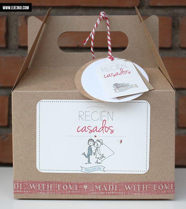 Cajita para recién casados - La Tienda de Eje360