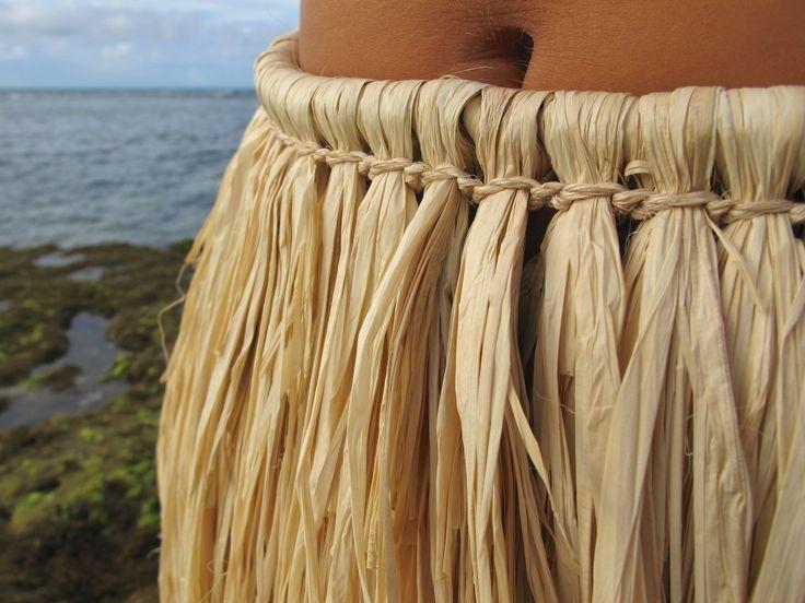 Hula Skirt made with raffia grass | Hula