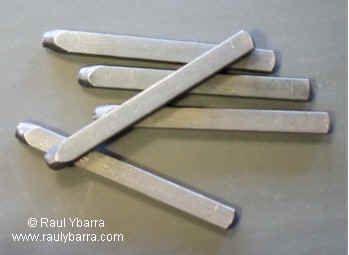 92be727d1054 Fabricación de herramientas de joyería - Punzones