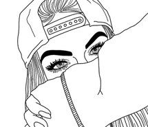 The 25+ best Cool girl drawings ideas on Pinterest   Pretty girl ...