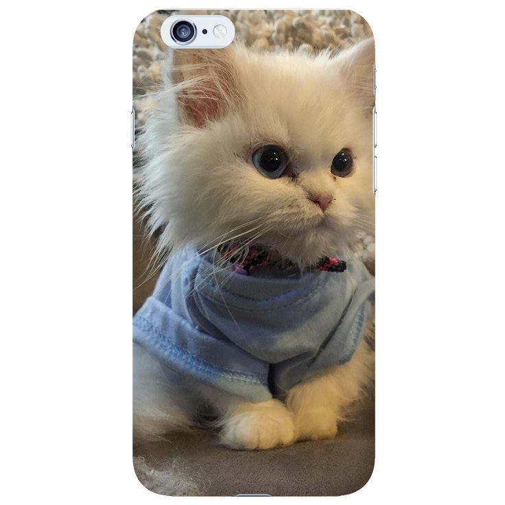 Adorable cute big headed baby cat iphone 6 case cover high quality.