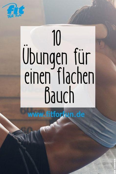 10 Übungen für den Bauch – Tinkerbel