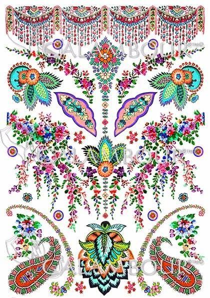 DGR 302 #decoupage  #hobby #flowers #cartadiriso #carta #ricepaper #craft #calambour #handmade #decoration  #cachemire #paisley #gipsy