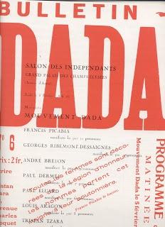 Camberwell Illustration 1: Manifestos Dada Manifesto poster