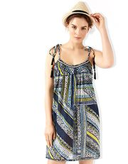 Estella Printed Dress