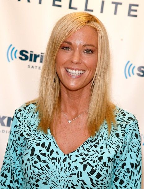 A recent online article contains some shocking claims about Kate Gosselin, the out-of-work reality star of the cancelled Jon & Kate Plus Eight. Not only is Kate allegedly hooking up with Katy Perry's ex, Russell Brand, she is sporting his initials on an undisclosed area of her body. Say it isn't so.