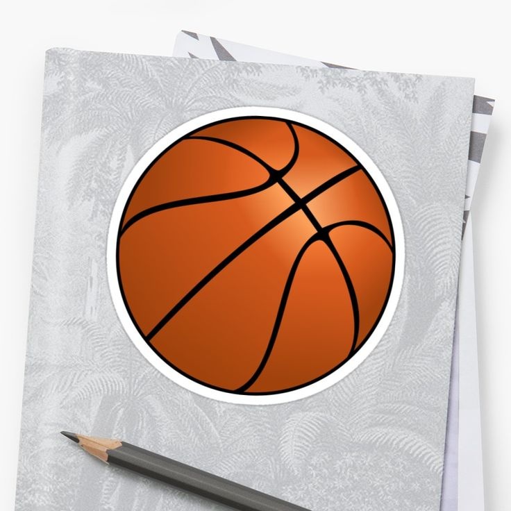 """""""Basketball """" Stickers by #Gravityx9 