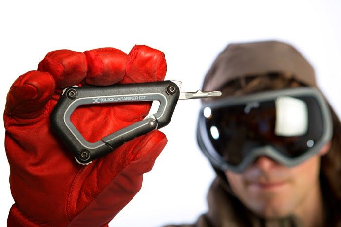 Collection of 'Smart Carabiner Products and Gadgets' from all over the world for your camping, hiking, boating and more.