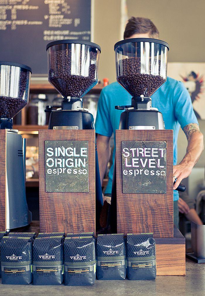 Verve coffee roasters.