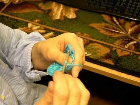 Путеводитель в мире вязания: Видеоурок по вязанию крючком квадрата