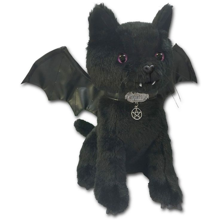 Bat cat plush... gothy musthave! <3 We're in love.